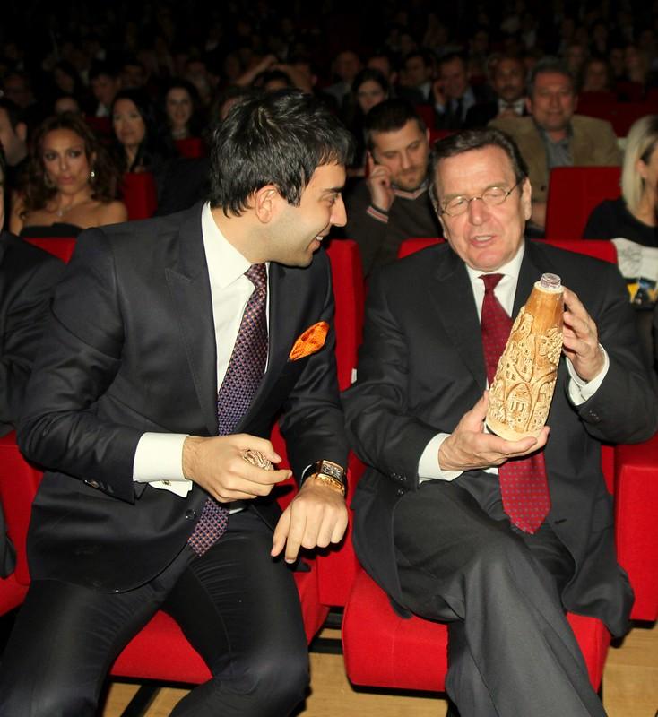 Arif Kerem Göğüş Gerhard Schröder Kapadokya Sohbeti