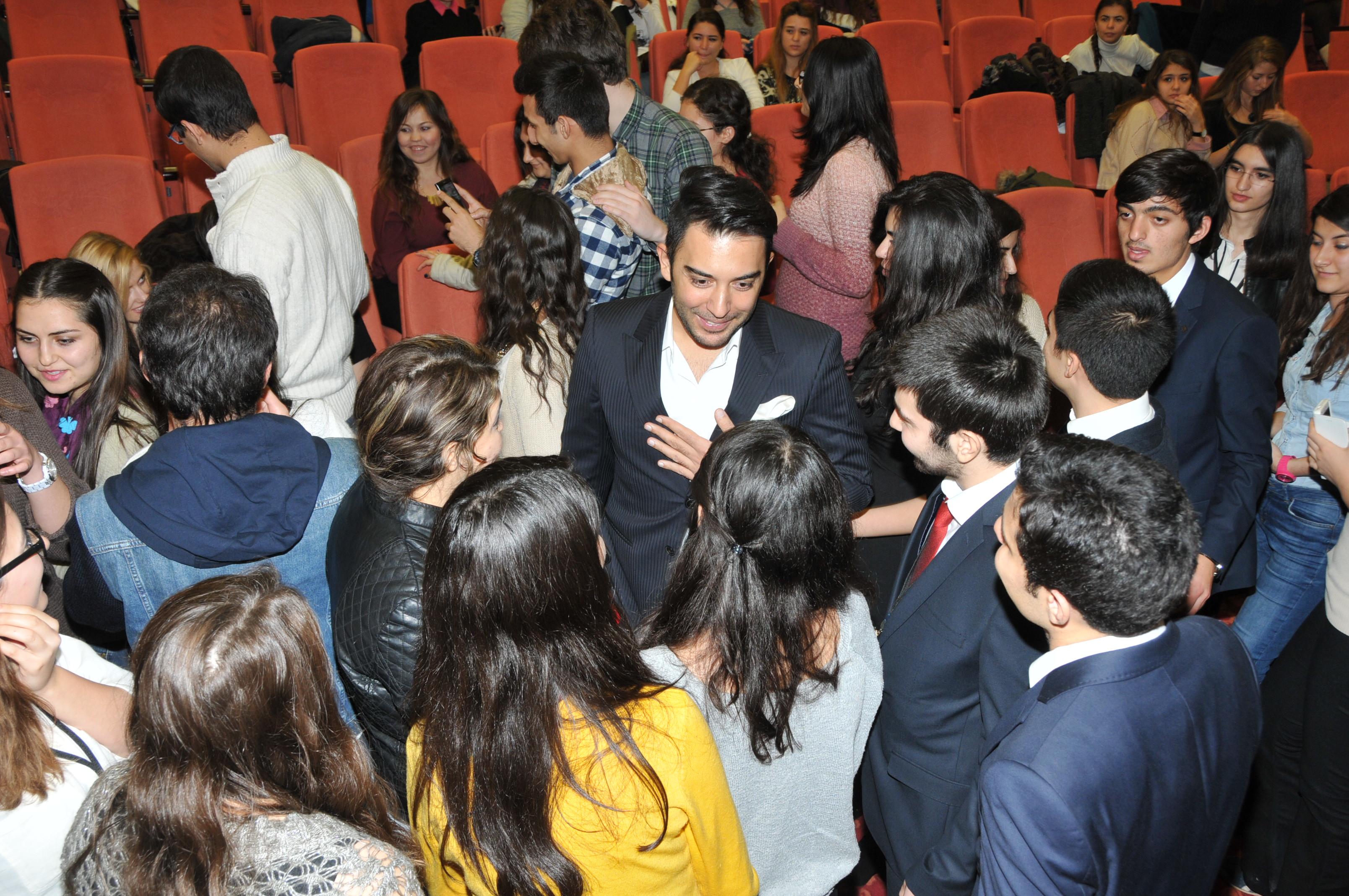 Kerem Göğüş Samsun 19 Mayıs Üniversitesi Söyleşi'de Öğrencilerle