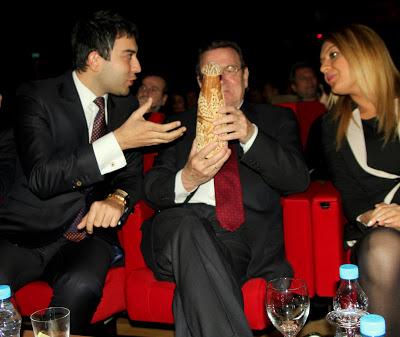 Gerhard Schröder ile Kapadokya Sohbeti
