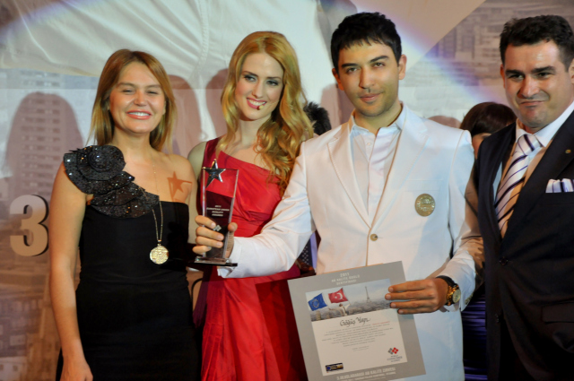 Kerem Göğüş AB Kalite Ödülünü Aldı
