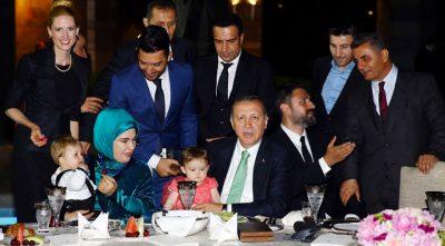 Kerem Göğüş, Recep Tayyip Erdoğan'ın Huber Köşkü İftarında