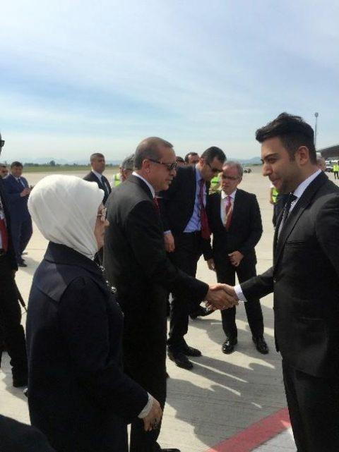 Kerem Göğüş, Cumhurbaşkanı Recep Tayyip Erdoğan ile