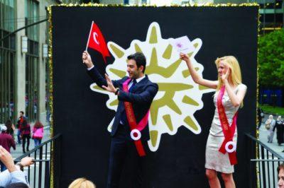 Kerem Göğüş, Türk Günü Yürüyüşü New York