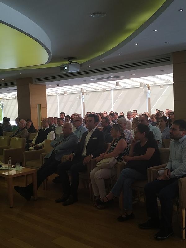 Arif Kerem Göğüş İstanbul Ticaret Odası Toplantısında