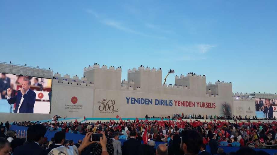 İstanbulun Fethinin 563. yıl dönümü töreni