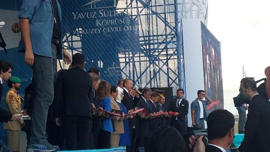 Yavuz Sultan Selim Köprüsü Açılış Töreni