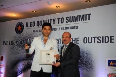 Arif Kerem Göğüş, Europe Quality To Summit Ödülleri