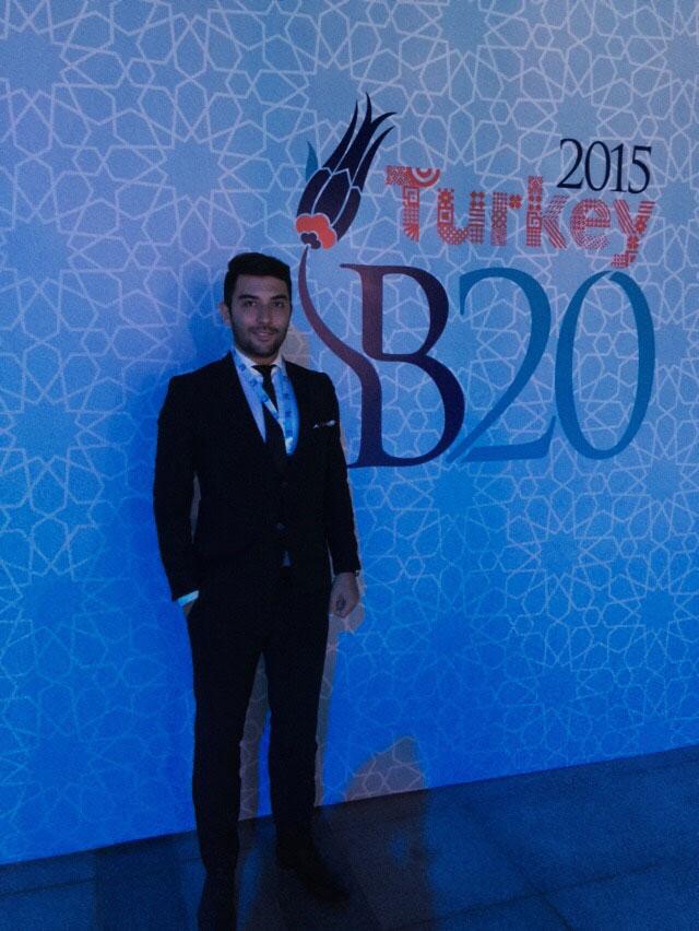 Arif Kerem Göğüş B20 Konferansı Katılımı