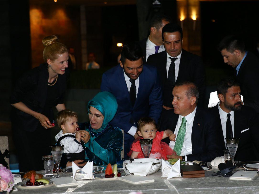 Arif Kerem Göğüş, Cumhurbaşkanlığı İftar Yemeği Katılımı