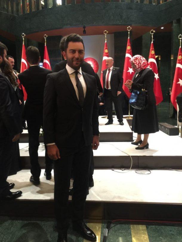 Arif Kerem Göğüş Cumhurbaşkanlığı Resepsiyonu Katılımı