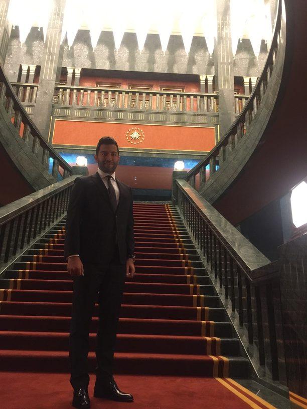 Arif Kerem Göğüş, Cumhurbaşkanlığı Zafer Bayramı Resepsiyonu Katılımı
