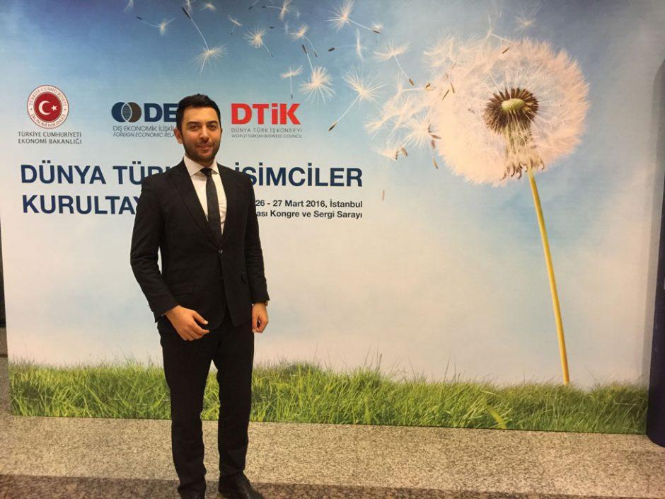 Arif Kerem Göğüş, Dünya Türk Girişimcileri Kurultayı