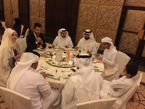 Arif Kerem Göğüş Dubai Arap İş Dünyası Toplantısı