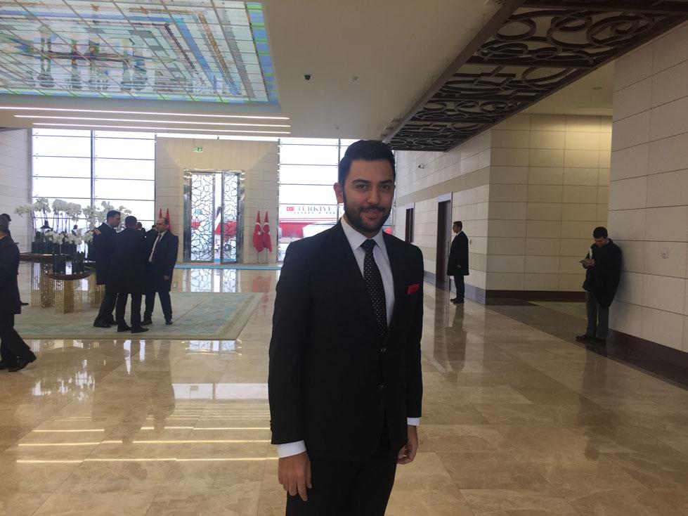Arif Kerem Göğüş Esenboğa Havalimanı Cumhurbaşkanı Uğurlama Töreni
