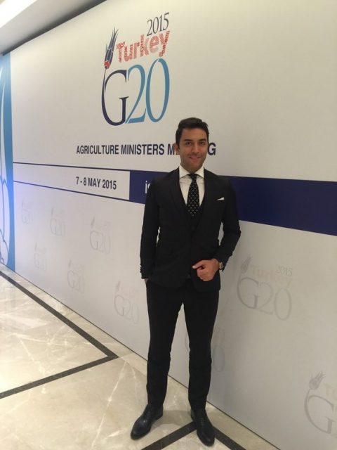 Arif Kerem Göğüş G20 Agriculture Ministers Meeting Toplantısı
