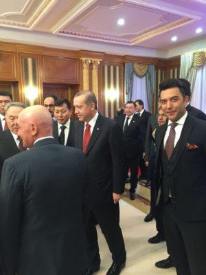 Arif Kerem Göğüş Kazakistan Cumhurbanlığı Resepsiyonu Katılımı