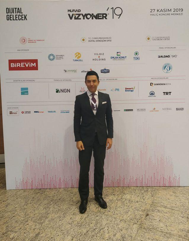 Arif Kerem Göğüş, Müsiad Vizyoner Zirvesi Katılımı