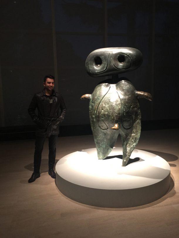 Arif Kerem Göğüş Sabancı Müzesi Sanat Sergisi Katılımı