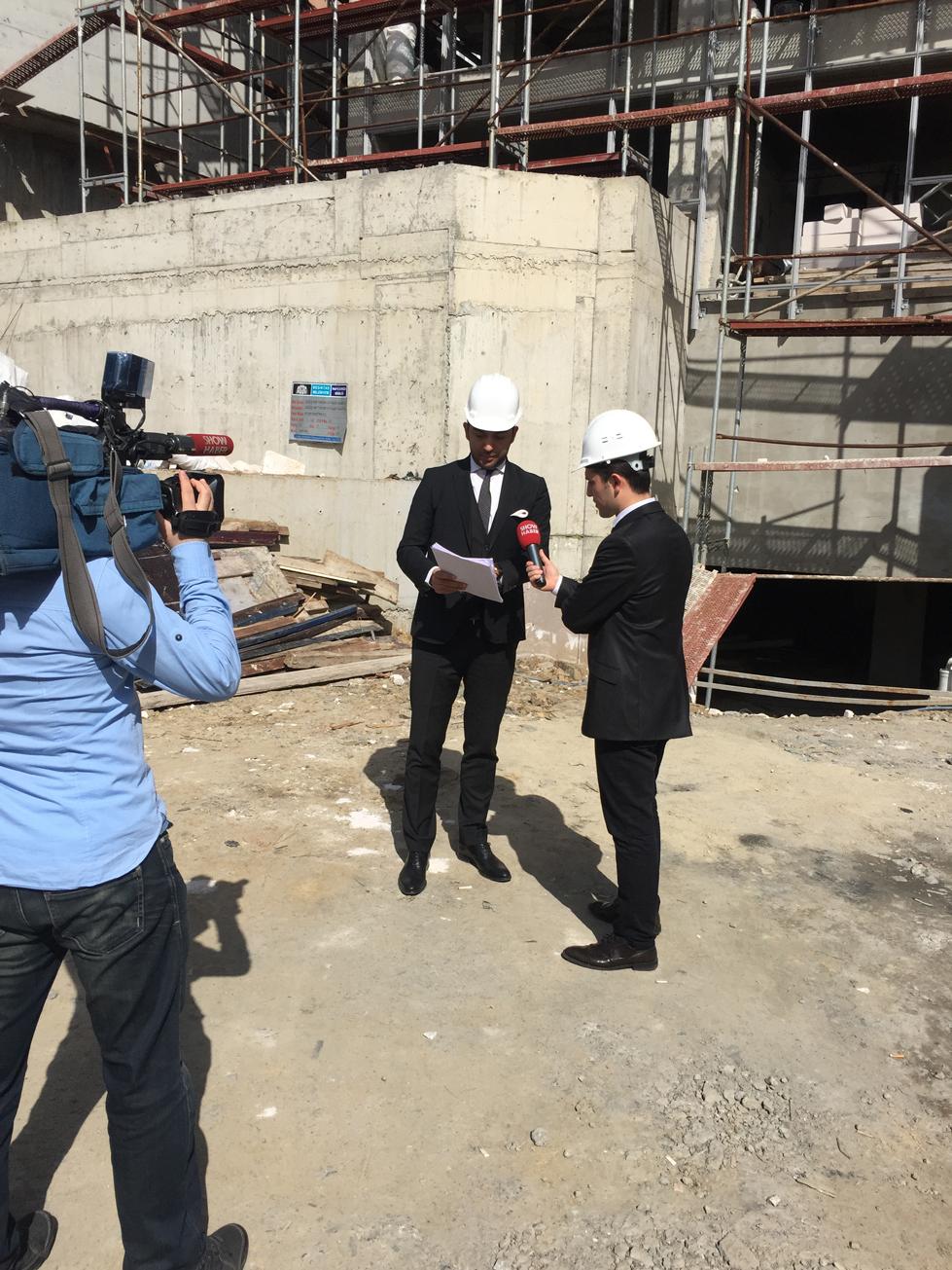 Arif Kerem Göğüş Show TV Ana Haber Bülteni Röportajı