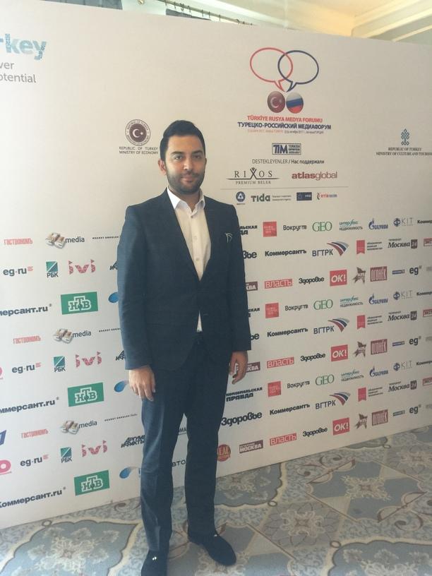 Arif Kerem Göğüş Türkiye Rusya Medya Forumu Katılımı