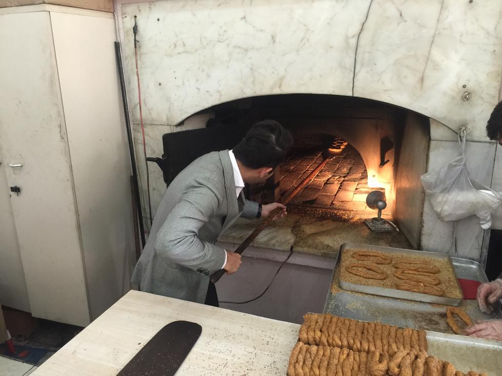 Arif Kerem Göğüş Tarihi Osmanlı Fırını Ziyareti