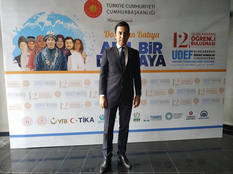 Arif Kerem Göğüş UDEF Konferansı Katılımı