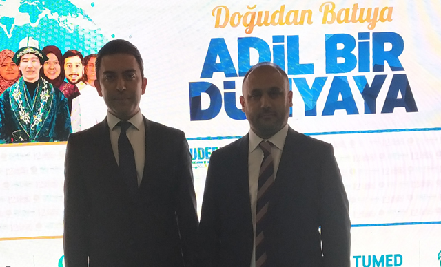 Arif Kerem Göğüş ve UDEF Başkanı