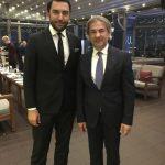 Beyoğlu Belediye Başkanı Ahmet Misbah Demircan ve Kerem Göğüş