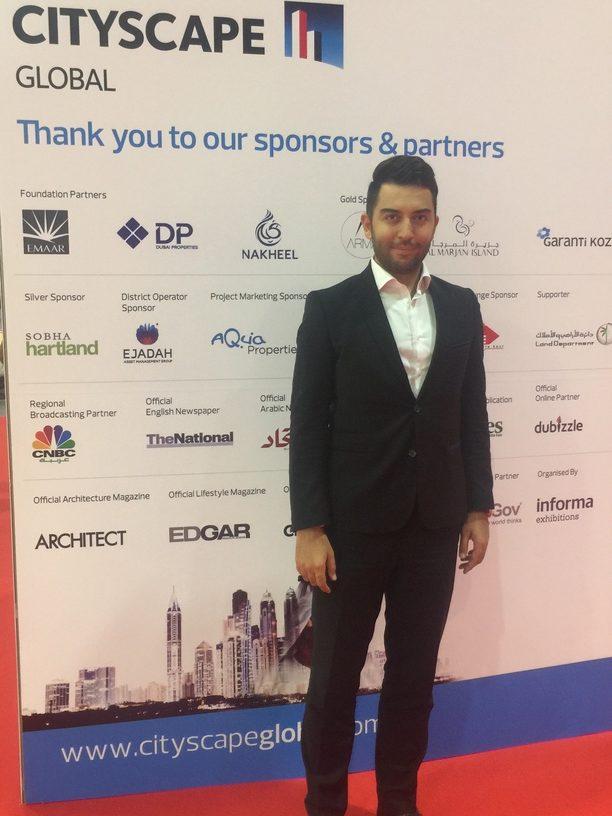Arif Kerem Göğüş Dubai City Scape Konferansı ve Fuarı Katılımı
