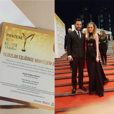 Arif Kerem Göğüş Altın Kelebek Ödüllerine Katıldı