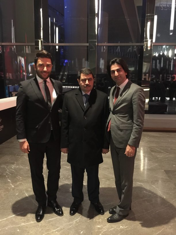 Arif Kerem Göğüş ile Ankara Valisi Vasip Şahin