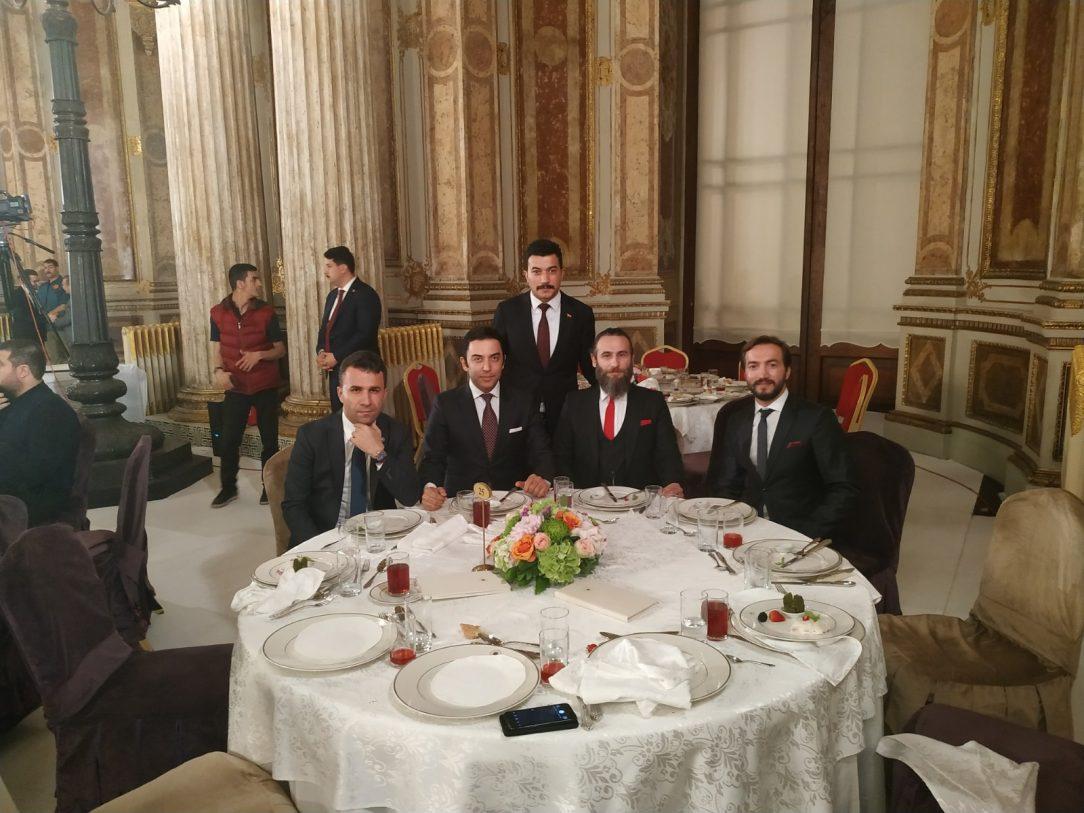 Arif Kerem Göğüş, Dolmabahçe Sarayı İftar Yemeği