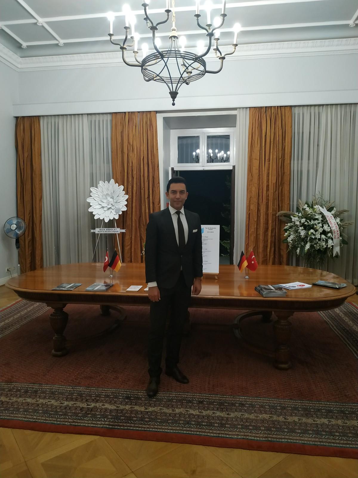 Arif Kerem Göğüş Alman Konsolosluğu Ziyareti