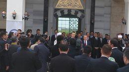 Kazakistan Hoca Ahmet Yesevi Cami Açılışı Töreni Katılımı