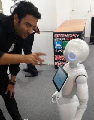 Arif Kerem Göğüş Japonyo Tokyo Teknoloji Fuarı Katılımı
