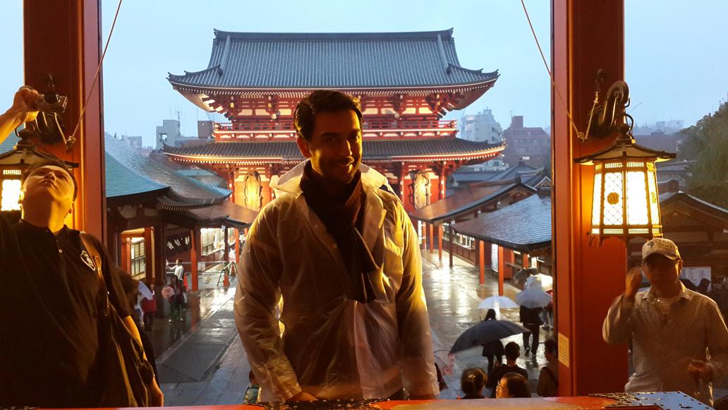 Arif Kerem Göğüş Japonya Tokyo Ziyareti