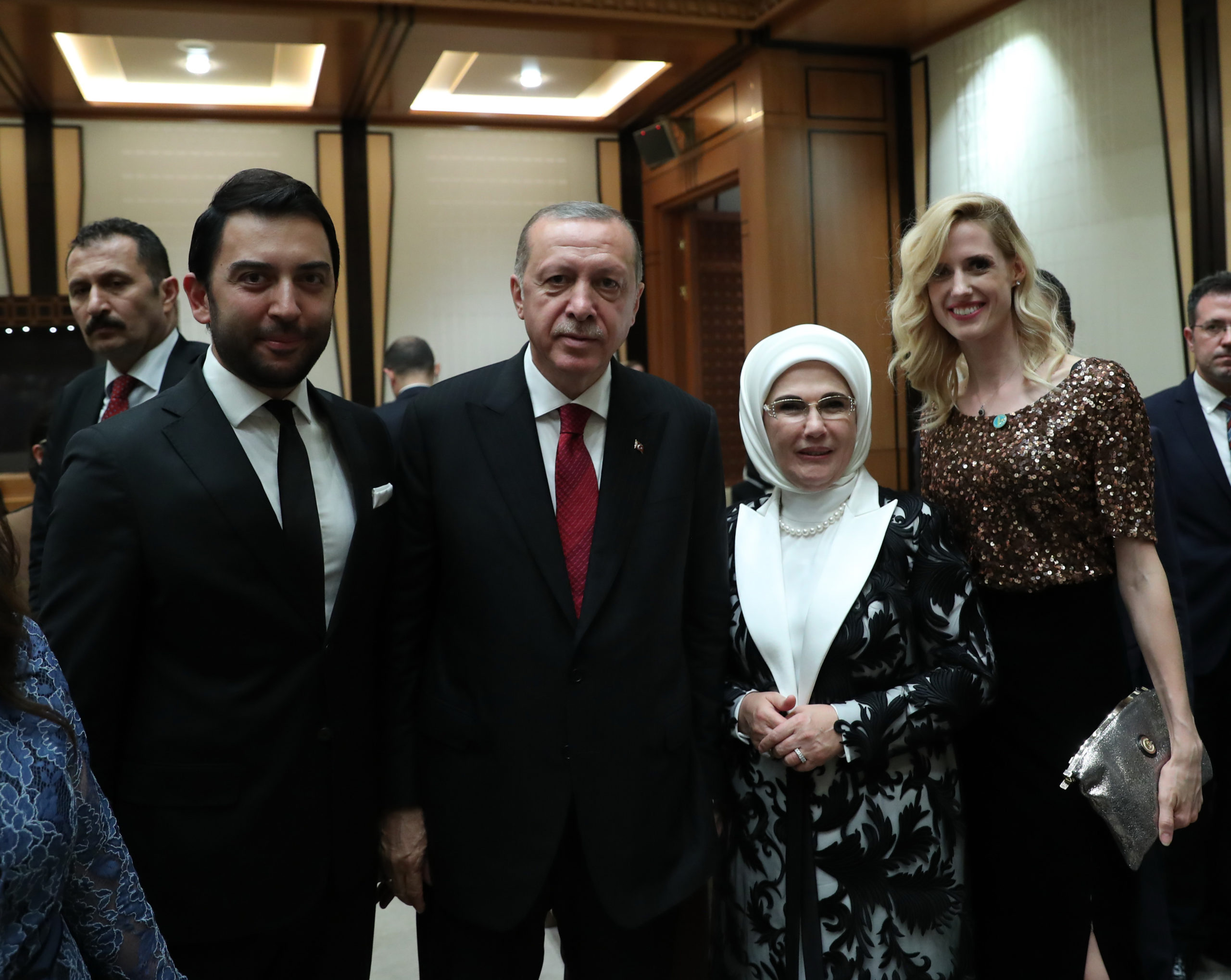 Kerem Göğüş Cumhurbaşkanlığı Ziyareti