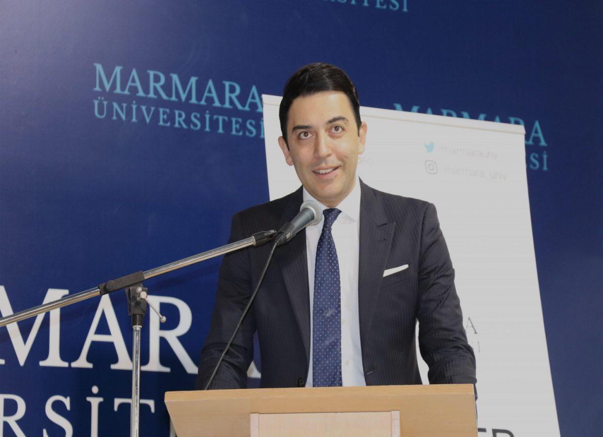 Kerem Göğüş Marmara Üniversitesi Konferansı