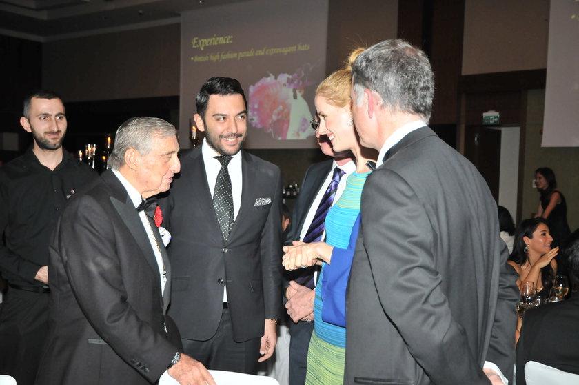 Koç Holding Onursal Başkanı Rahmi Koç, Kerem Göğüş, Richard Moore