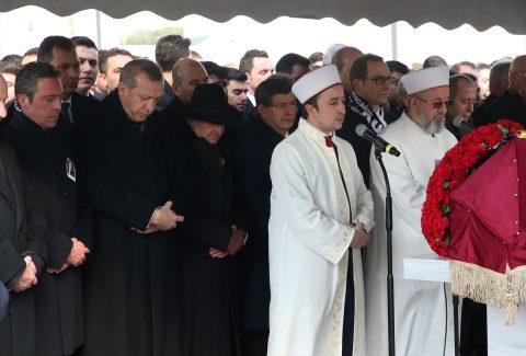 Mustafa Koç Cenazesi Töreni