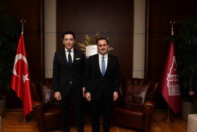Beyoğlu Belediye Başkanı Haydar Ali Yıldız ve Arif Kerem Göğüş
