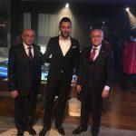 Türkiye Müteahhit Birliği Başkanı Mithan Yenigün ve Arif Kerem Göğüş