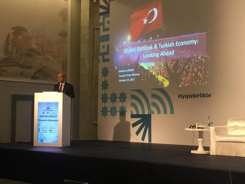 Türkiye Rusya Medya Forumu Mehmet Şimşek Konuşması