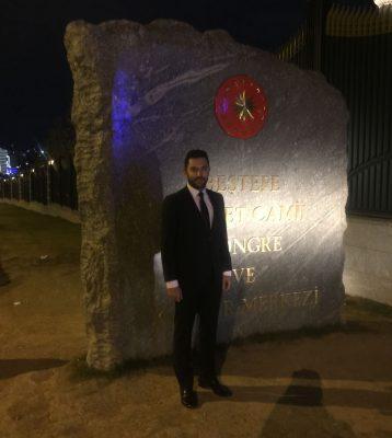 Arif Kerem Göğüş, Cumhurbaşkanlığı Külliyesi TRT World Lansmanı