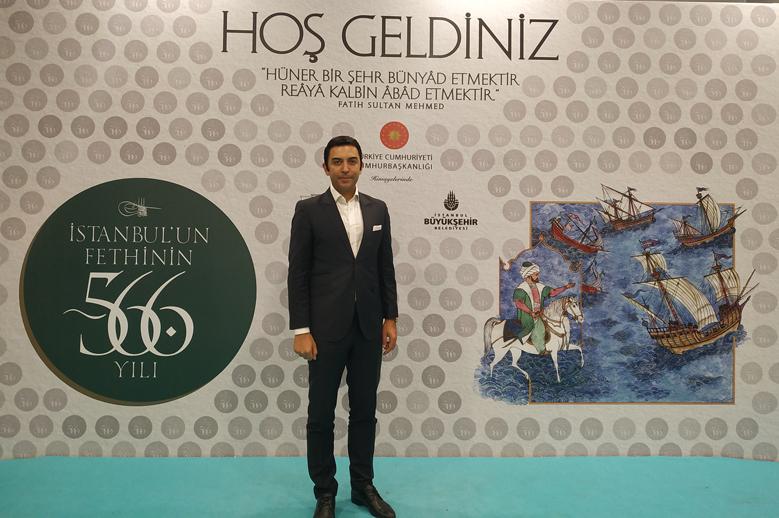 Arif Kerem Göğüş İstanbulun Fethinin 566. yıl dönümü etkinliği