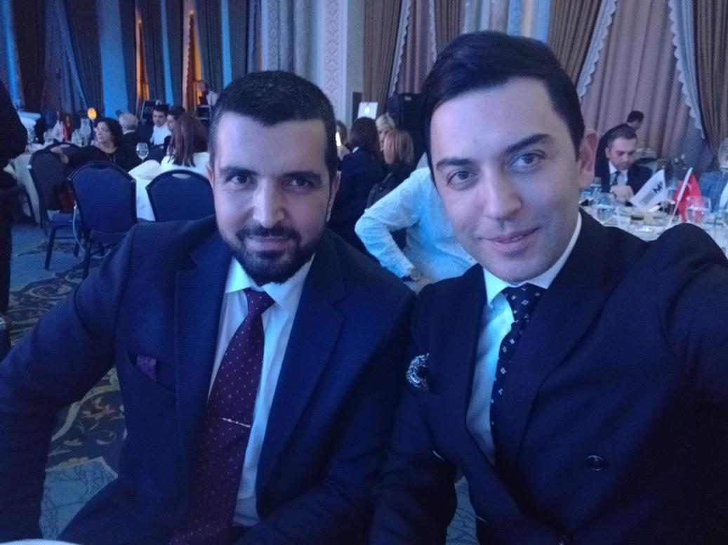 Arif Kerem Göğüş ve Daily Sabah Genel Yayın Yönetmeni İbrahim Altay