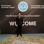 Arif Kerem Göğüş, Çırağan Sarayı Ekonomi Zirvesi Katılımı